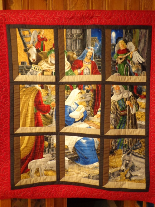 Quilted Nativity Scene
