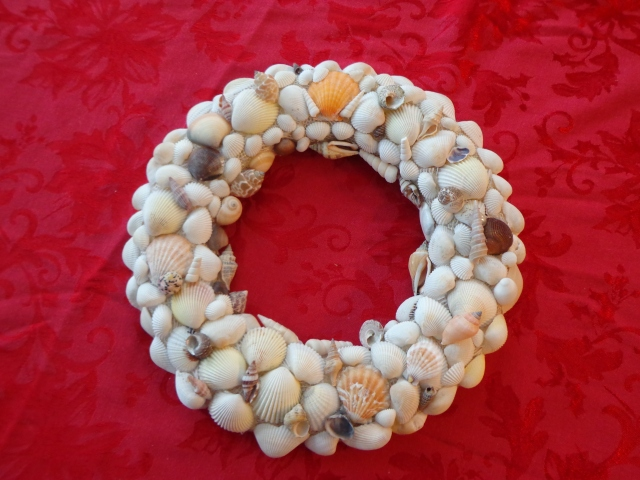 Shell Wreath for Patty