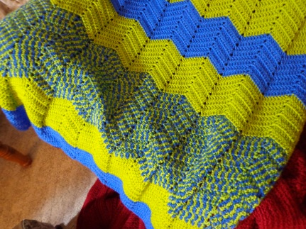 Project Linus Blanket #17 3-17-19 Detail