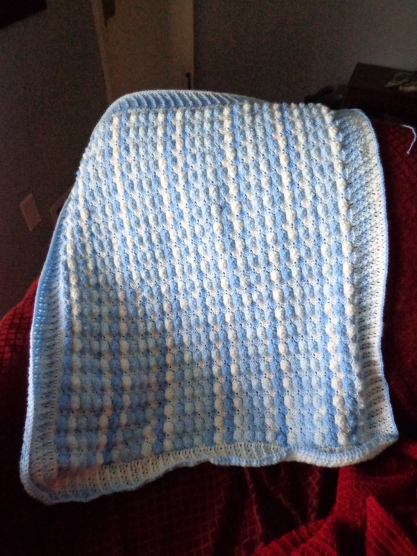 Project Linus Blanket #18 - Blueberry Ice Cream - 3-27-19