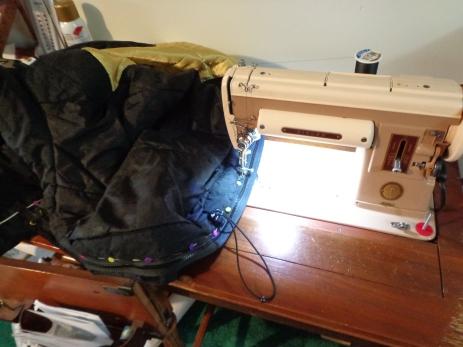 Singer 301A Zipper Sewing 3-2-19