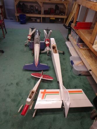 Airplanes in Workshop 4-21-19