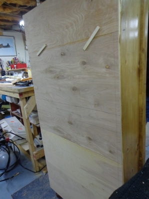 Jewelry Armoire - Backing