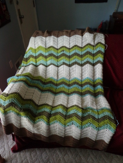 Project Linus Blanket #19 4-21-19 - The Pond