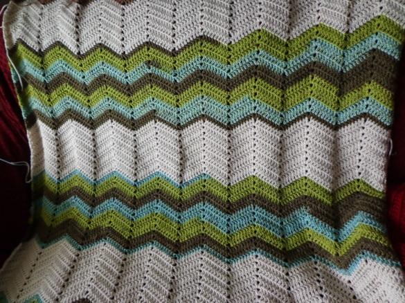 Project Linus Blanket #19 - Stripe Detail 2