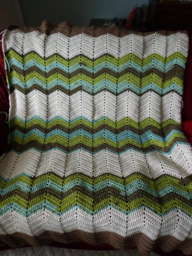 Project Linus Blanket #19 - Stripe Detail