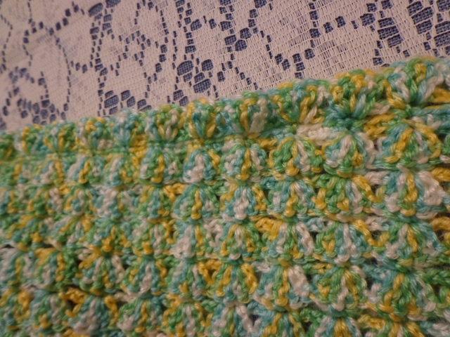 Project Linus Blanket #20 - Edging