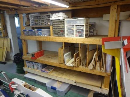 Rearranged Shelves 4-21-19