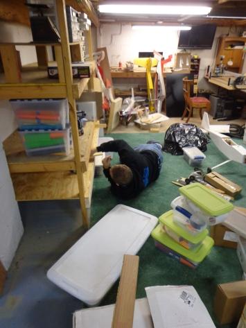 Small Workshop - Shelves - 4-15-19