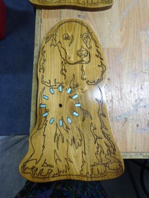 Dog Clock 1 Finished