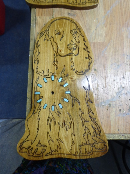 Dog Clock 1 Finished