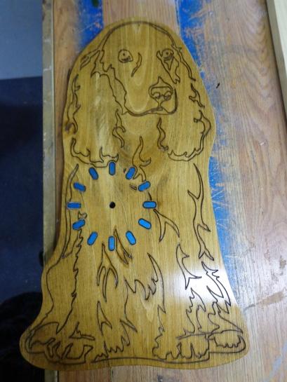 Dog Clock 2 Finished