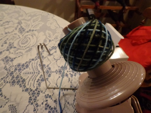Finished Ball of Yarn 5-20-19