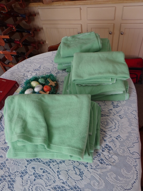 Fleece Blankets for Cat Shelter