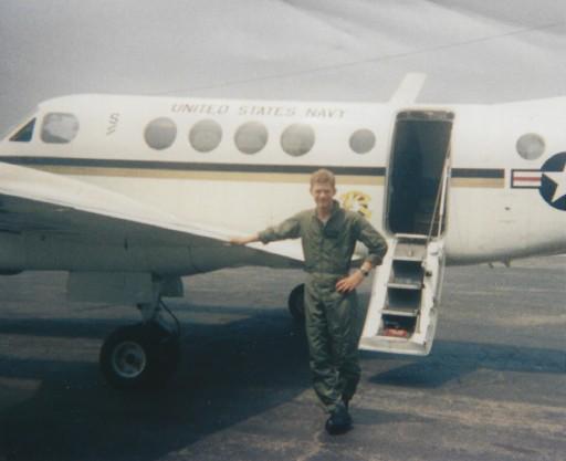 Jay in the Navy