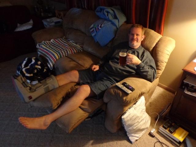 Jay's Broken Foot 5-30-19