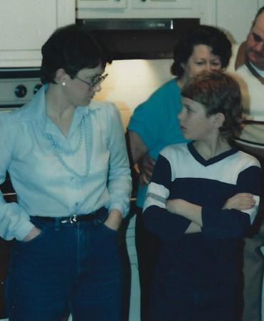 Karen and Jay 1987