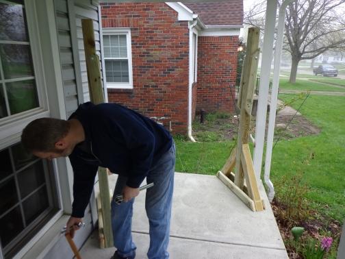Porch Swing Frame 1