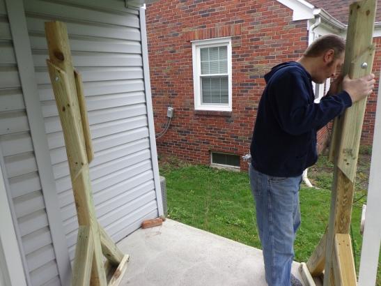 Porch Swing Frame 2
