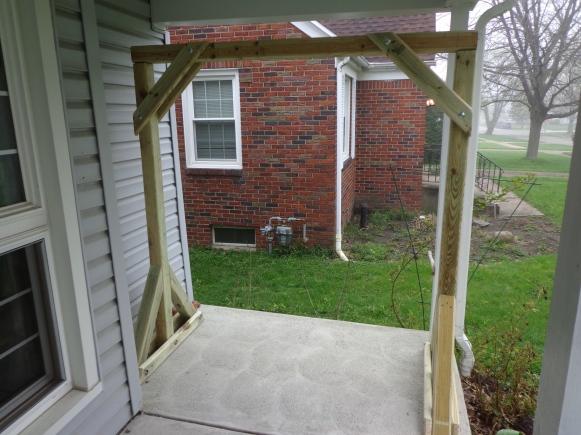 Porch Swing Frame 3