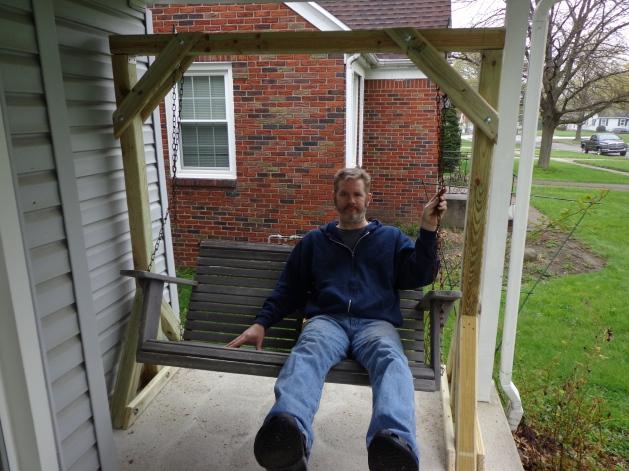 Porch Swing Frame 4