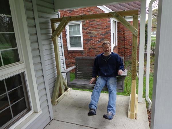 Porch Swing Frame 5