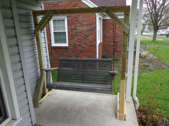Porch Swing Frame 6