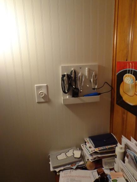 Cord Organizer Installed