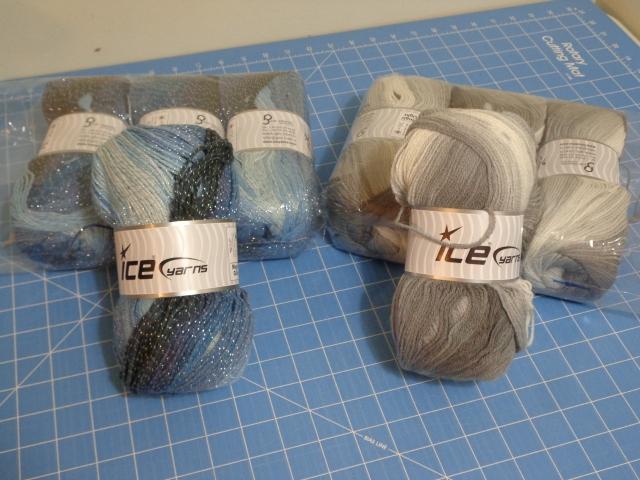 Ice Yarn for Shawls 6-26-19