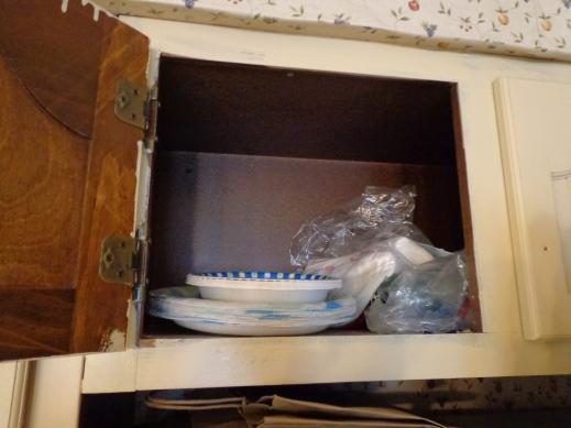 Paper Plate Cupboard
