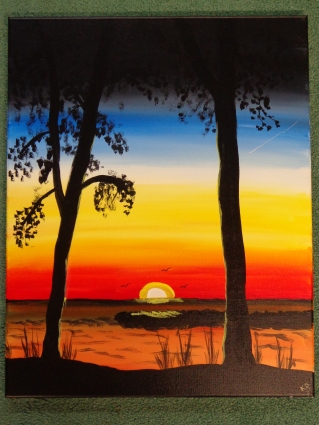 Sunset Painting 6-20-19