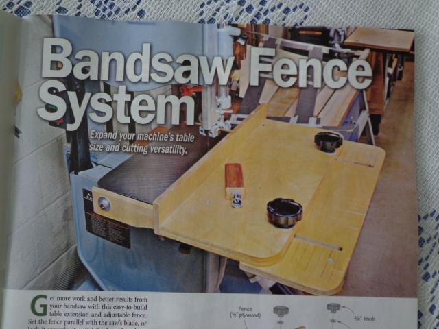 09 2019 Wood Magazine Bandsaw Fence