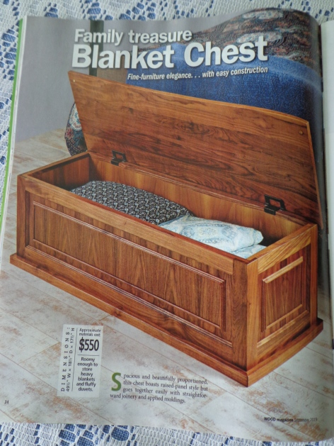 09 2019 Wood Magazine Hope Chest
