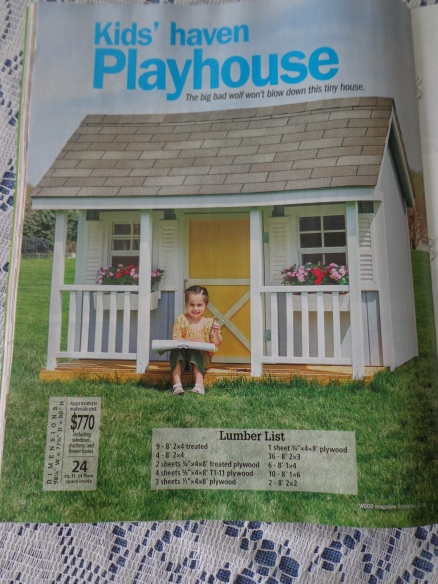 09 2019 Wood Magazine Playhouse