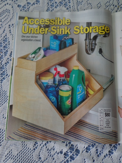09 2019 Wood Magazine Under-sink Caddy