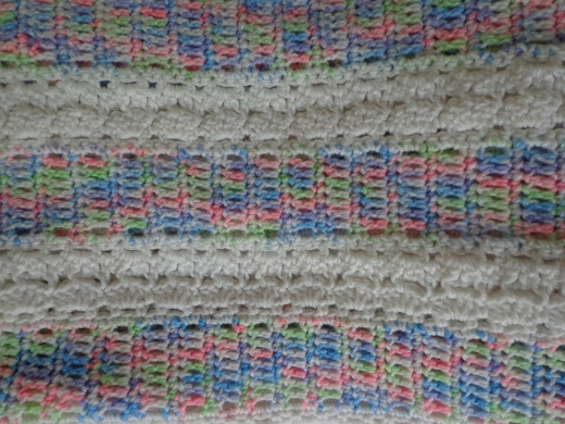 Babe-Crochet Blanket Detail