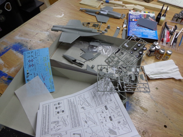 F-18 Hornet Kit Assembly