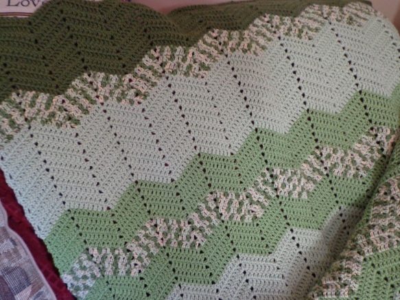 Project Linus Blanket #23 7-4-9 Detail