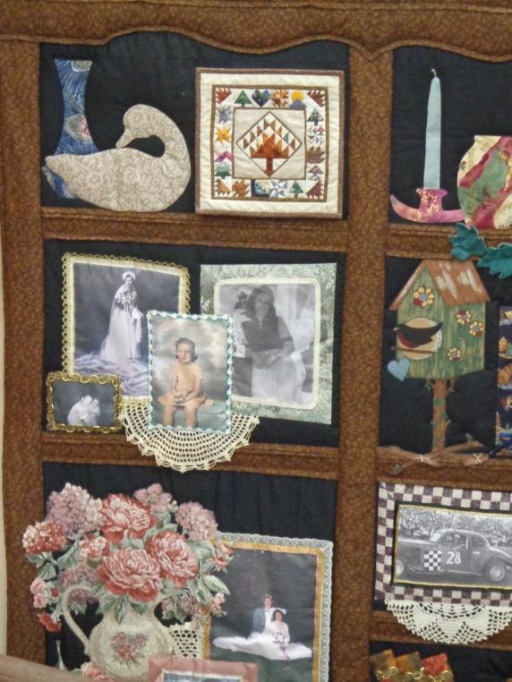 2019 Quilt Show Curio Shelf