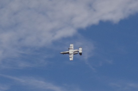 A-10 Warthog Inverted 8-31-19