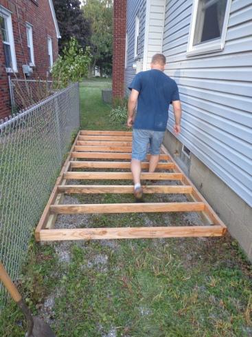 Lean-To Floor Straddling 9-7-19