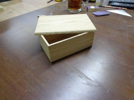 Pew Wood Box 9-15-19