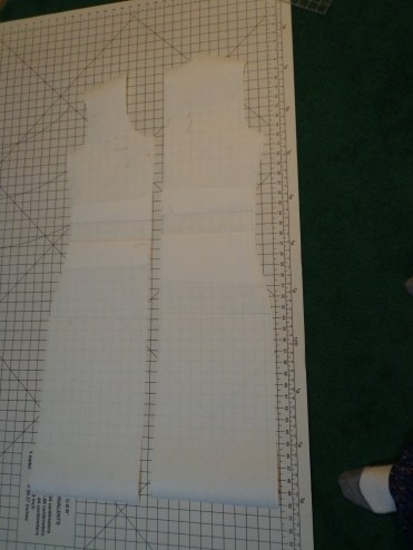 Bodycon Dress Pattern Pieces
