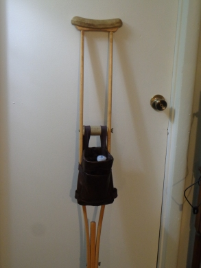 Crutch Carrying Bag 10-12-19
