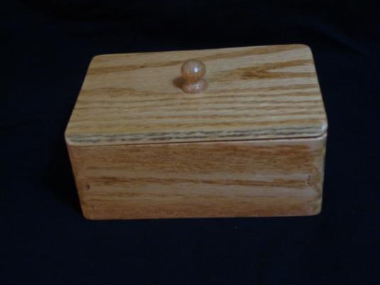 Pew Wood Box Finished 10-12-19
