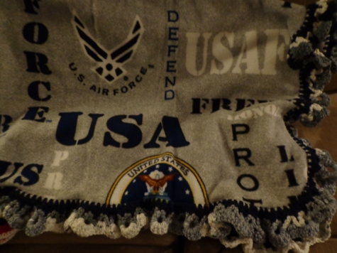 Air Force Fleece Blanket 2019