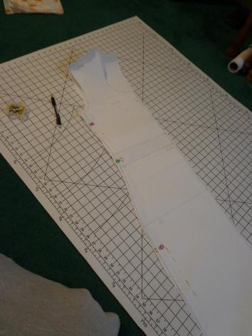 BodyCon Dress Outline