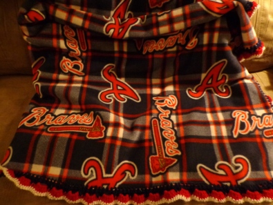 Braves Fleece Blanket 2019
