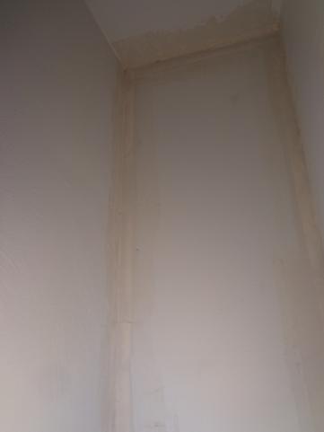 Bathroom Closet Mudded 1-26-20