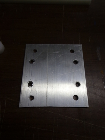 CNC Router Back Plate